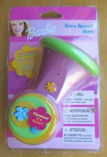 2003 Electronic Barbie Voice Record Horn Pink Talking Bike Toy Message Friends!