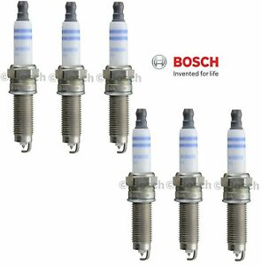 6 pcs NGK Laser Iridium Spark Plugs for 2011-2017 Porsche Cayenne 3.6L V6 dx