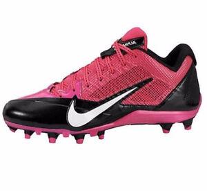NEW Nike Alpha Pro Low TD football cleats pink black BCA 579545-016 Mens sz 16