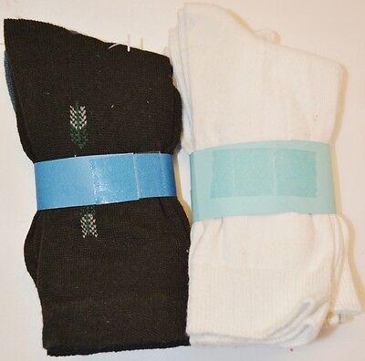 BNWT 4 o 5 pares de Limón Menta Azul Marino Calcetines de tobillo o Entrenador Zapato Talla 4-7 A80