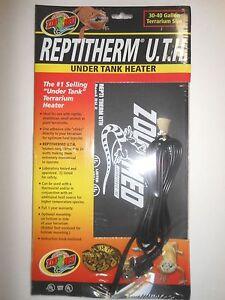 Zoo Med Repti Therm Under Tank Reptile Terrarium Heater Ebay