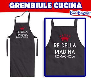 Grembiule da cucina RE DELLA PIADINA ROMAGNOLA - piatti tipico ...