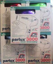 Parlux 3800 Eco Friendly Ionic & Ceramic Nero - 2 Bocchette In Dotazione -2100W