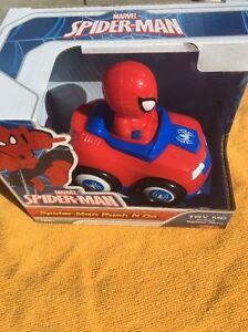 De Juguete Para Spiderman PequeñosEbay Push Niños N Go Coche Marvel l3F1JTcK