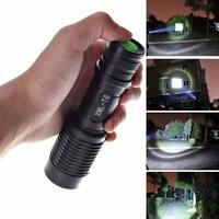 New 4000LM Zoomable Cree XML T6 LED 5 Modes Police Flashlight Lamp Torch A5