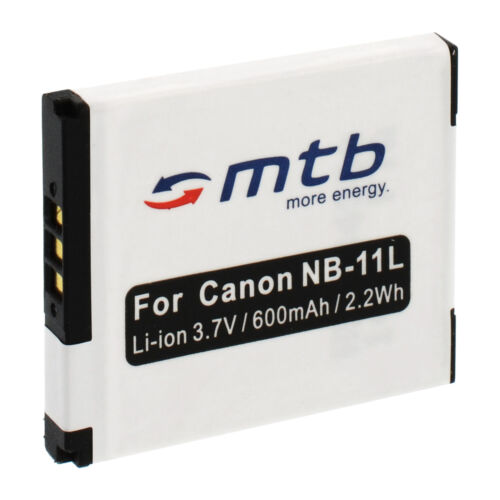 133 132 Batería NB-11L NB11L para Canon Ixus 127 HS 135 140
