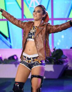 WWE Womens Champion Charlotte Flair autograph. ESPN BODY