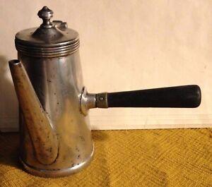 Jos. Heinrich's BILTMORE Coffee Chocolate Pot Silver Soldered Paris New York