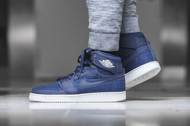 reputable site 53ff0 c8f47 ... usa nike aj1 ko high og air jordan one high top trainers retro blue  various sizes