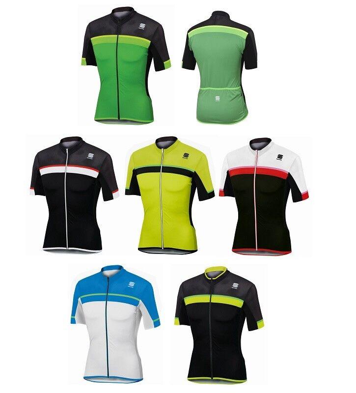 Sportful Pista Jersey Fahrrad-Kurzarmtrikot Regular Fit mit 3 Taschen - 1101742