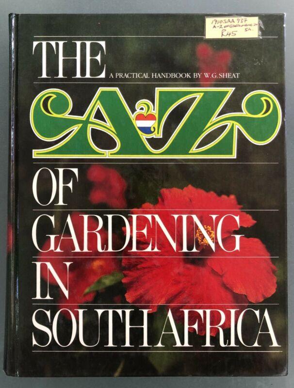 Book - The A to Z of Gardening in South Africa