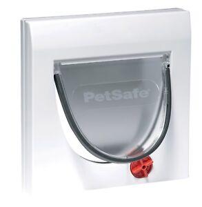 Petsafe-Staywell-Manual-4-Way-Locking-Classic-Cat-Flap-White-Without-Tunnel-Pet