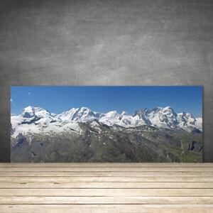 Kuchenruckwand Aus Glas Esg Spritzschutz 125x50cm Gebirge Landschaft
