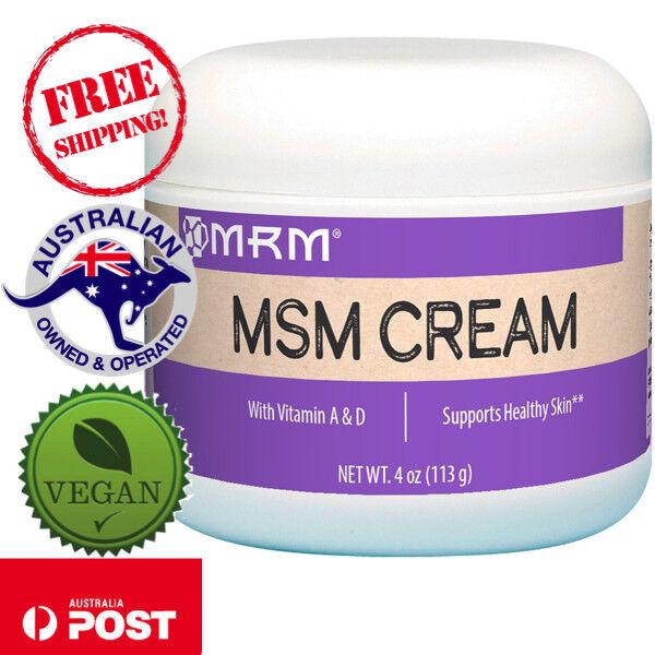 MRM, MSM Cream, 4 oz (113 g) - Vegan - Supports Healthy Skin*