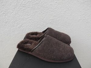 90fdc69fd94 Details about UGG SCUFF NOVELTY STOUT BROWN SHEEPWOOL SLIPPERS, MEN US 10/  EUR 43 ~NIB