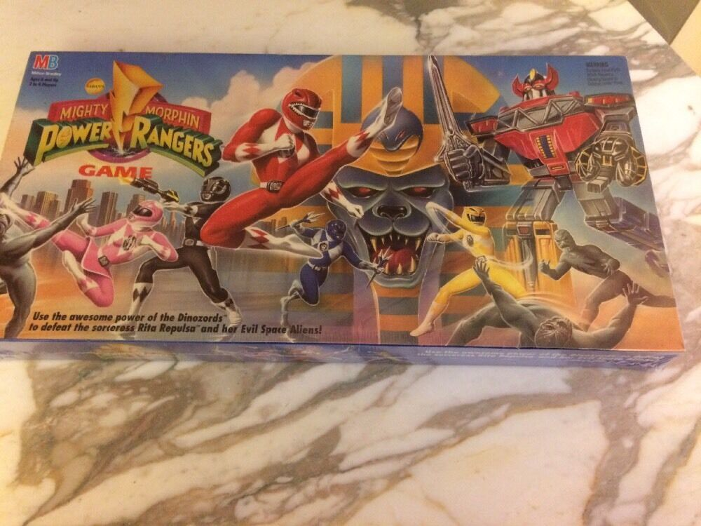 hasta 42% de descuento 1993 Mighty Morphin Power Rangers Juego De De De Mesa Sellado  primera vez respuesta