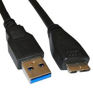 3 Feet  USB 3.0 Data Sync Cable for Toshiba Canvio Slim Desk Connect Simple 3.0