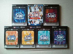 Die-Sims-1-Hauptspiel-fuer-PC-plus-alle-Erweiterungen