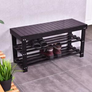 Bamboo-Shoe-Rack-Bench-Shoe-Storage-Shelf-Boot-Bench-Organizer-Hallway-Enterway