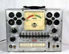 Vintage Eico 625 Tube Tester Lights Up Dial Centers Etc