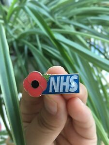 NHS-poppy-pin-badge-nurse-doctor-carer-physio-HCA-cleaner-porter