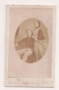 Vintage-CDV-King-Edward-VII-amp-Queen-Alexandra-of-Great-Britain-From-Canada