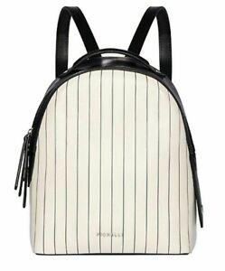 FIORELLI-bag-Genuine-Backpack-rucksack-Limited-edtion-White-Black-SALE-Genuine