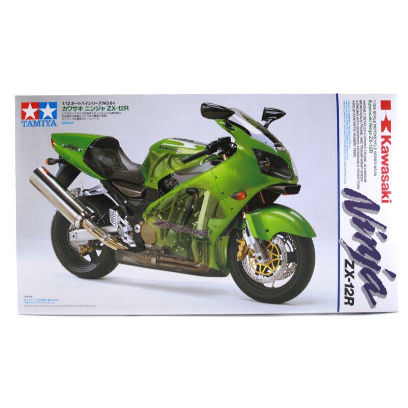 Tamiya Kawasaki Ninja ZX -12R modellllerlerl Set (skala 1 12) 14084 NY