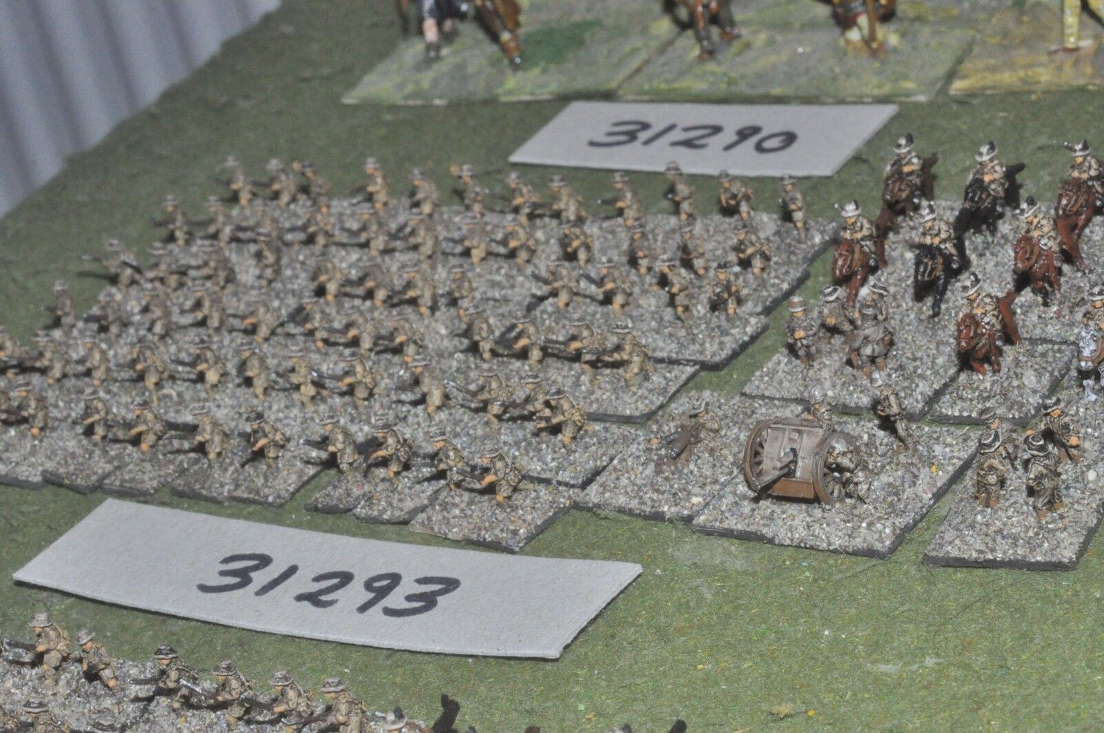 10mm WW1   british - middle east battlegroup 90 figures - inf (31293)