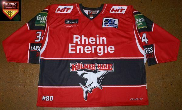 Kölner Haie * 09/10 * No. 34 * Norm Maracle * red/home (1 game/4 backup) *
