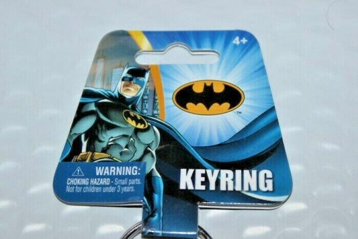 Multicolor 45841 3 DC Batman Figure Soft Touch PVC Key Ring