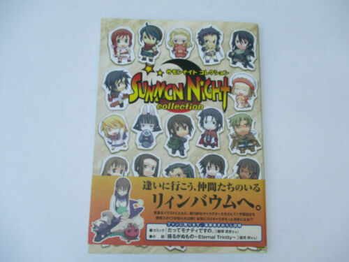 JAPAN Summon Night Fan Book Trading Card Game Collection Revised version Book