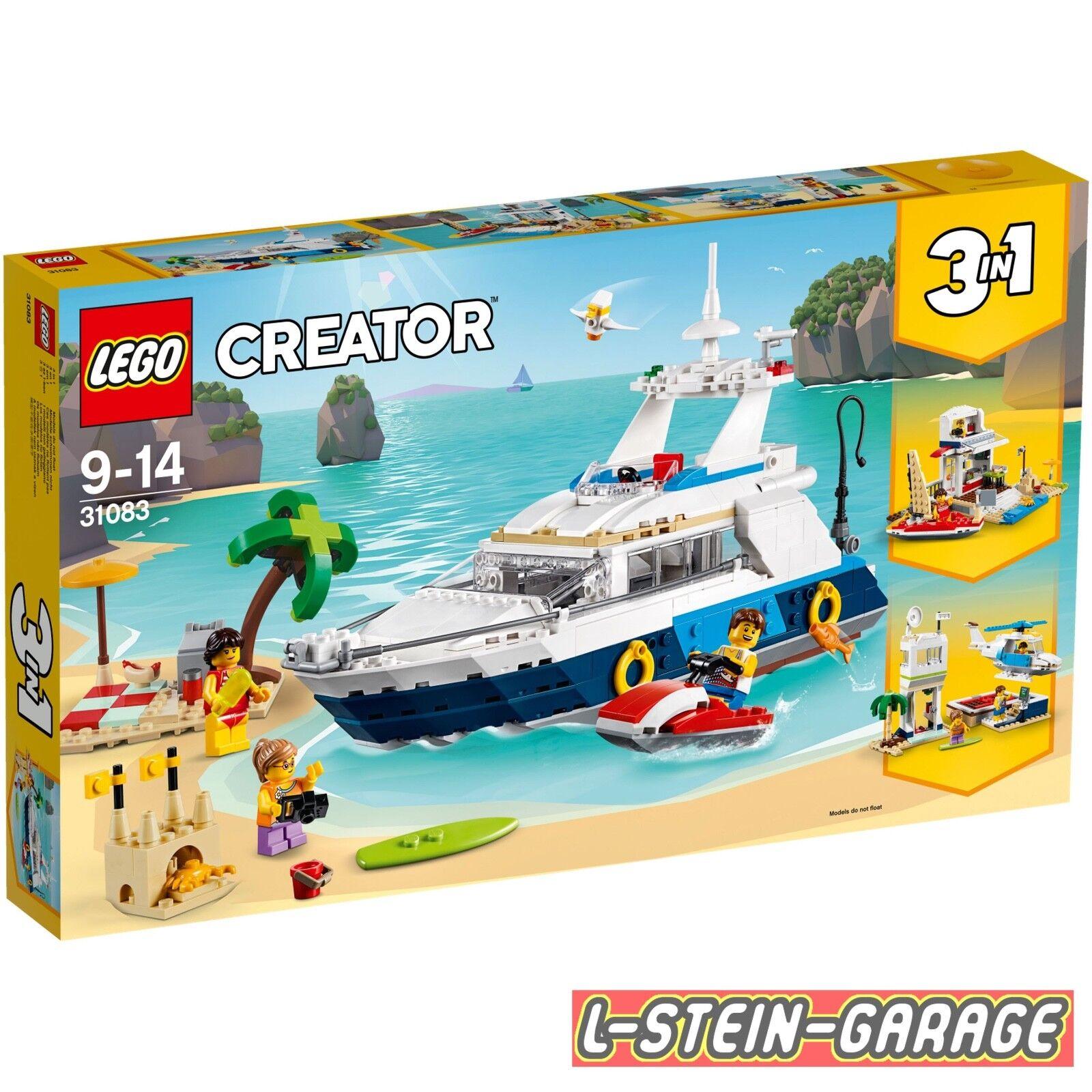 LEGO® Creator 31083 Abenteuer auf der Yacht Neu & OVP