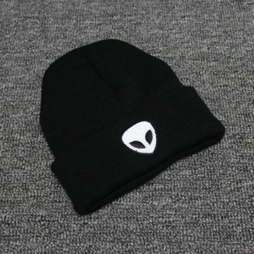 Warm Soft Mens Women's Winter Warm Alien Hat Pom Hat Beanie Ski Cap UK