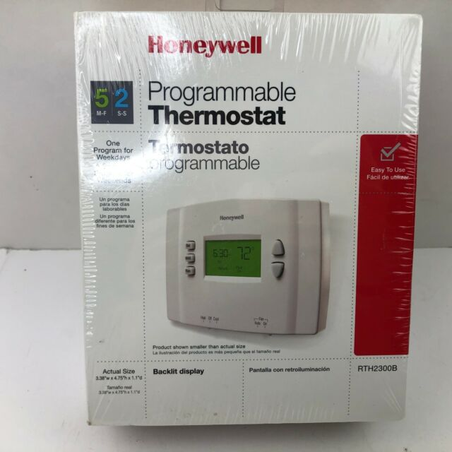 Honeywell 5-2 Day Programmable Thermostat with Backlight-Model RTH2300B