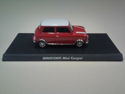 1//43 car solido mini cooper innocenti miniature italian collection it2