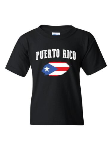 Puerto Rico State Flag University of Puerto Rico  American Unisex Youth Shirts