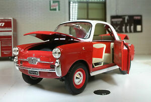 G-LGB-1-24-Scale-1958-Autobianchi-Bianchina-Trasformabile-Whitebox-Diecast-Model
