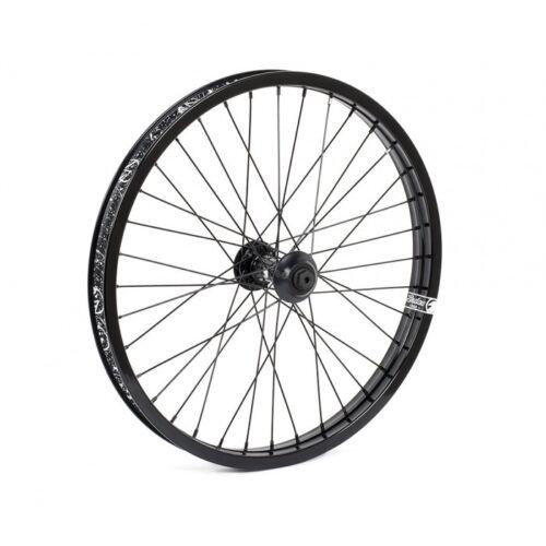 Black Shadow Conspiracy BMX Bike Symbol Front Wheel