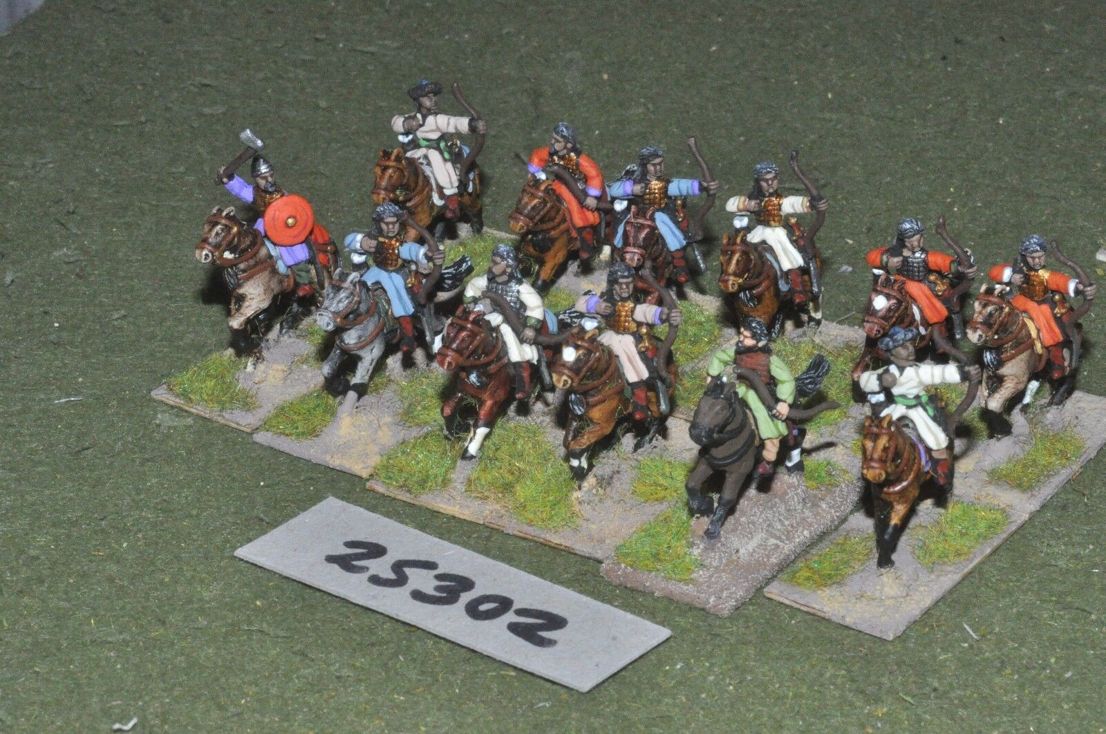 20mm medieval   saracen - heavy 12 figures - cav (25302)