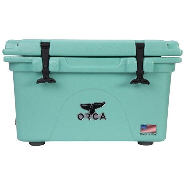 ORCA 26QT SEAFOAM COOLER    LIFETIME WARRANTY   SEAFOAM 26 QUART COOLER NEW  presenting all the latest high street fashion