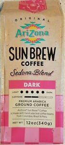 NEW!  Arizona Sun Brew Coffee SEDONA BLEND Ground DARK 12 oz. 1 Bag
