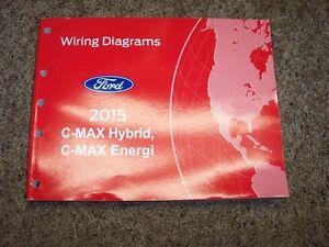 2015 Ford C Max Energi Electrical Wiring Diagram Manual 2 0l 4cyl Ebay