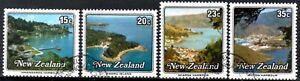 (ref-12463) New Zealand 1979 Petits Ports Sg.1192/1195 Utilisé-afficher Le Titre D'origine
