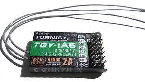 Soigneux Turnigy Ia6 Récepteur - 2,4 Ghz 6 Canaux-convient Tgy-i6 Transmetteur Radio-afficher Le Titre D'origine DernièRe Technologie