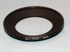 OLYMPUS OM ZUIKO ADAPTER RING 49-72 FOR 18mm F3.5 LENS
