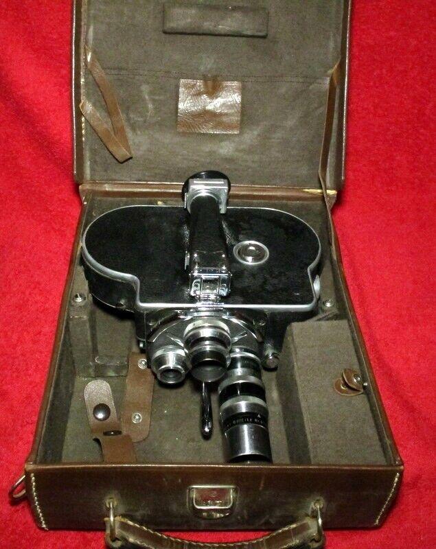 Paillard Bolex 16mm kamera