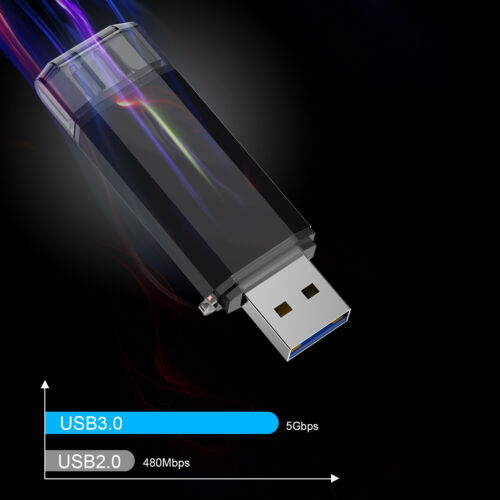 Kootion 32GB 64GB 128GB OTG Type C Dual USB 3.0 Flash Drive Memory Storage Stick