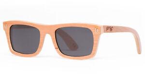 598d8fdacf27 Image is loading PROOF-Eyewear-Boise-XL-Sunglasses-Cherry-Wood-Polarized-