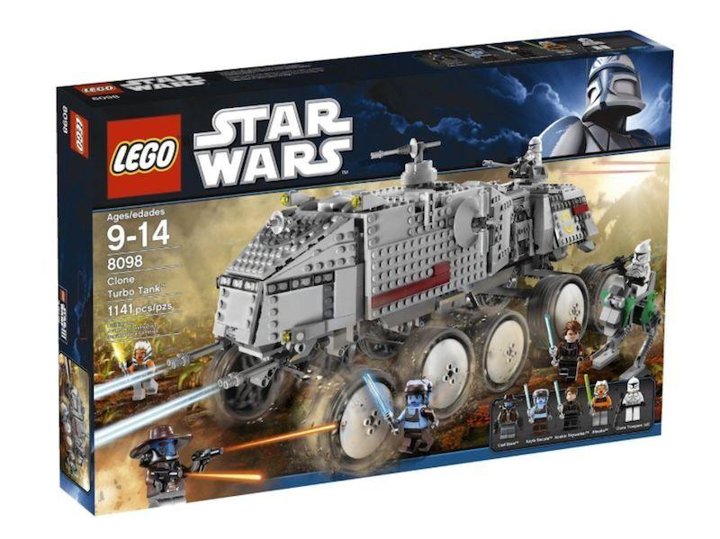 LEGO NEW SEALED STAR WARS SET 8098 CLONE TUBO TANK